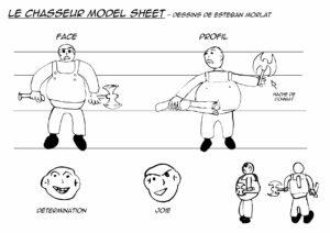 ModelSheet_Chasseur_Esteban_Morlat