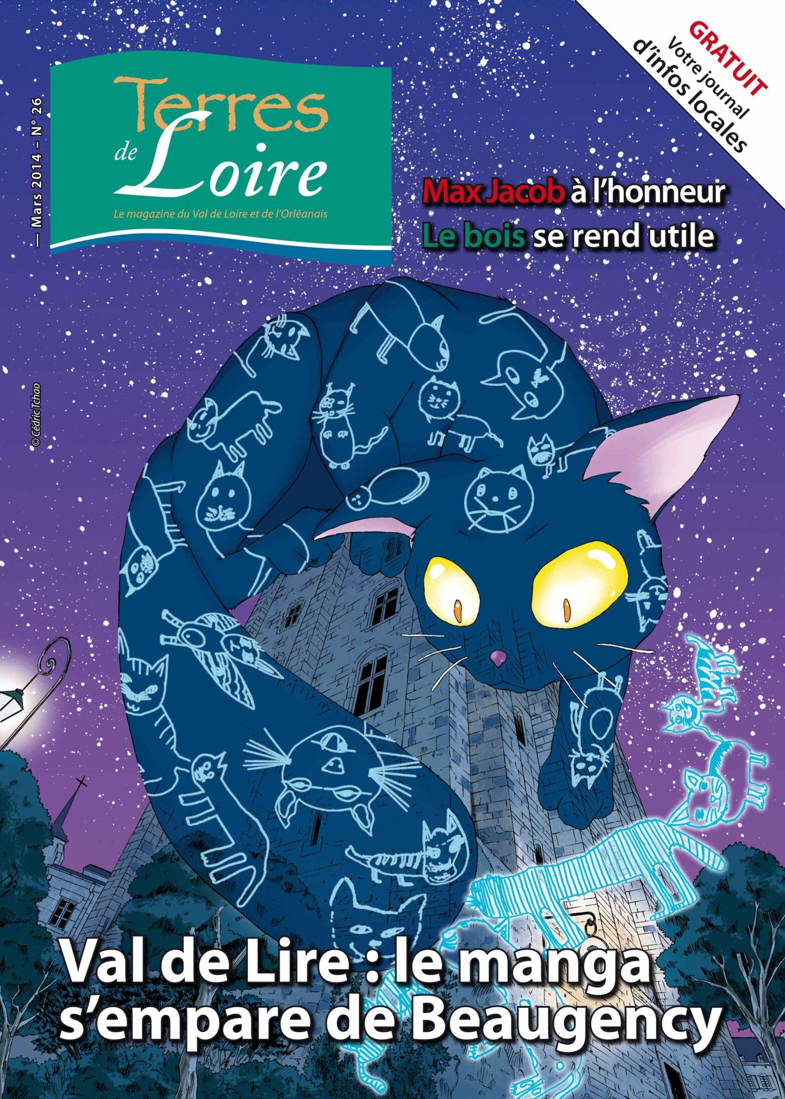 Une couverture de magazine réalisée par Cédric Tchao et les élèves