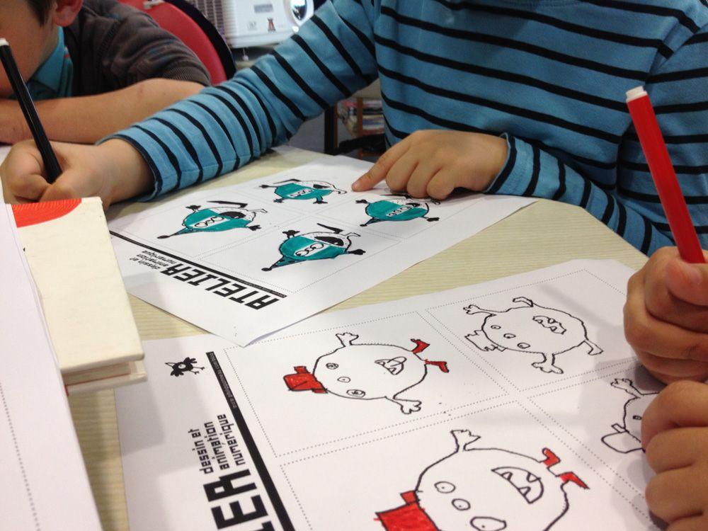 Création de dessins numériques avec Olivier Philipponneau