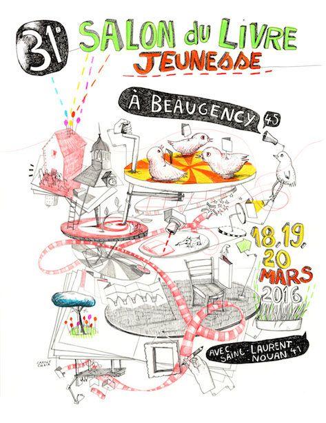 Programme du 31e Salon du Livre Jeunesse de Beaugency et Saint-Laurent-Nouan