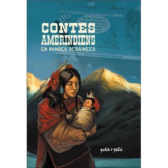 Coup de cœur pour Contes amérindiens en bandes dessinées par Cyril Varquet