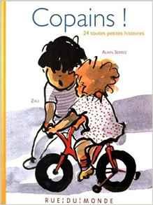 Coup de coeur pour Copains ! 24 toutes petites histoires par Manon Noublanche