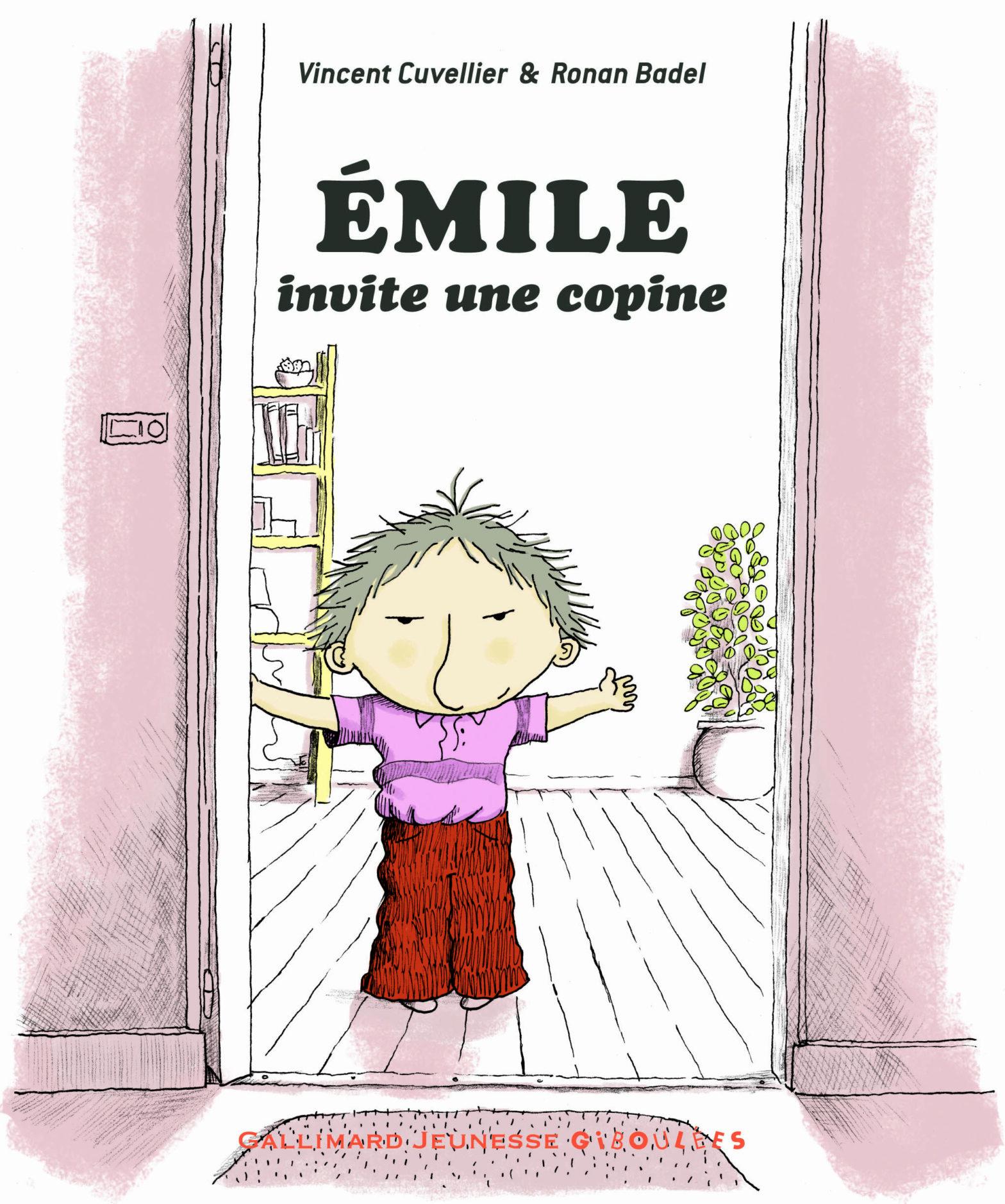 Coup de cœur pour Émile invite une copine, de Vincent Cuvellier et Ronan Badel par Catherine Mourrain
