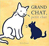 Coup de cœur pour Grand chat, petit chat d'Elisha Cooper par Anouk Gouzerh
