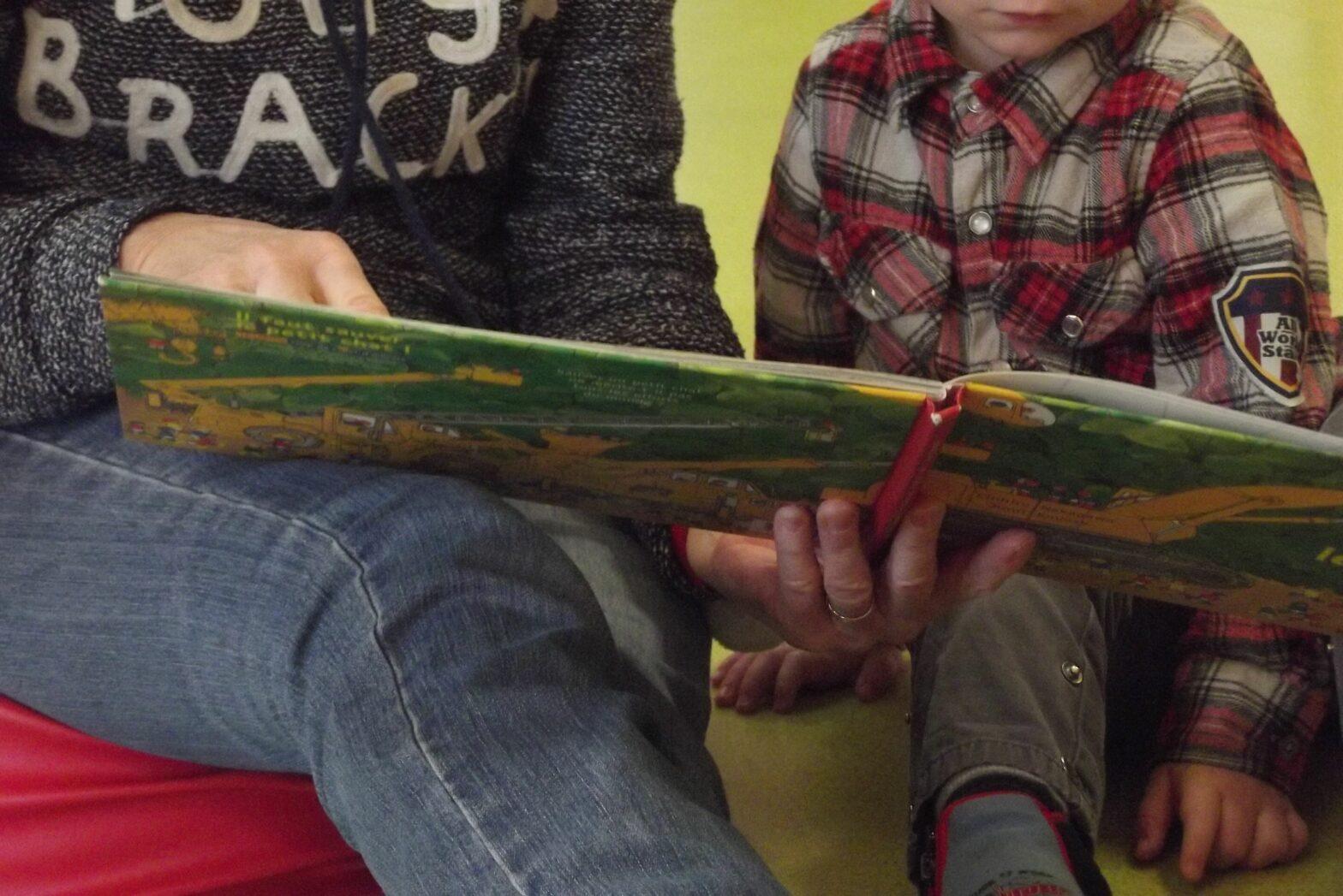 Formation à Beaugency : Lire des histoires aux enfants : pourquoi ? quel album ? comment ?