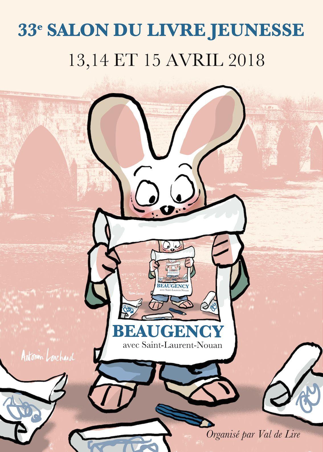 Le programme du 33e salon du livre jeunesse