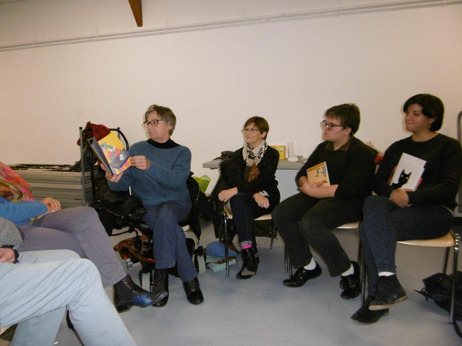 Des soirées de lecture partagée racontées par Anouk Gouzerh et Cyril Varquet