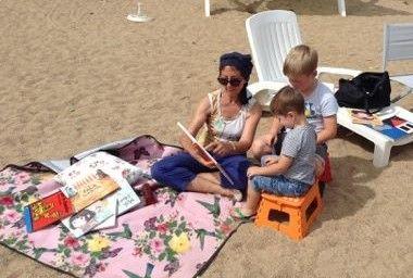 Lectures d'été : rendez-vous à la Plage