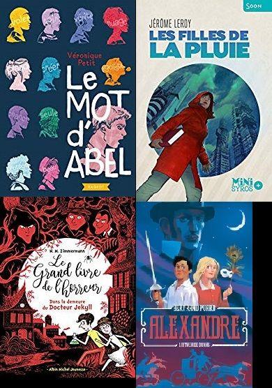 Les romans du prix Jacques Asklund 2019